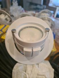 Low voltage adjustable spot lights