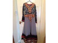 Beautiful brand new Asian long dress