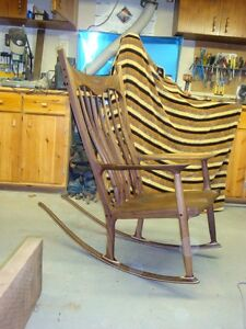 Maloof inspired rocking chair plans Sarnia Sarnia Area image 2