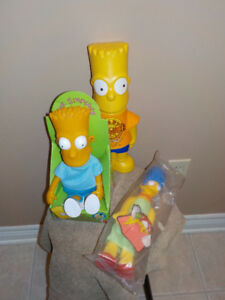 SIMPSONS COLLECTIBLES * LOT OF 3