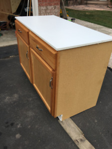2 Base Cabinets With Top