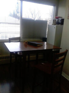 Dining Table with two chairs Edmonton Edmonton Area image 1