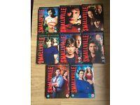 Smallville season 1-8 DVDs