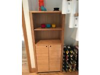 M & S marks and Spencer cabinet bamboo