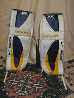 Pads de goalie pour hockey