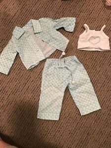 Maplelea doll blue Pjs