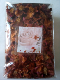 Natural Dried Camelias Pack of 170 for Craft or Display purposes!