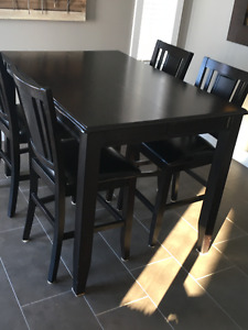 Dining Set Solid Maple 6 Chairs Free Delivery