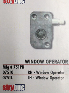 window operator for trailer