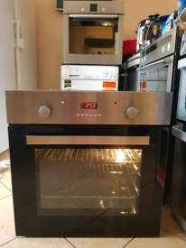 Single electric oven built in 60cm