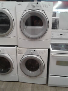 SET DRYER/WASHER WHIRPOOL FRONT LOUD