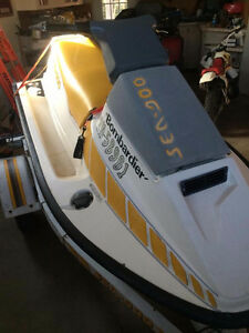 Fast seadoo great for down at the River lots of fun