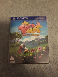PS Vita - Sir Eatsalot Limited Edition (Brand New)