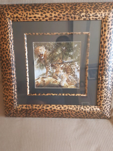 Beautiful Leopard print picture