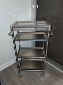 IKEA stainless Steel trolley for storage