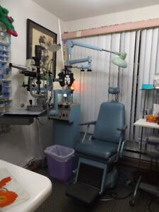Optical or Optometrist Chair and Stand
