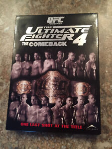 UFC The Ultimate Fighter 4 The Comeback (5 disc)
