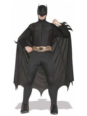 Batman Begins Costume (Batman Begins Muscle Chest Adult Costume Superhero Rubies Medium Large Comicon)
