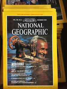 NATIONAL GEOGRAPHIC 1966-