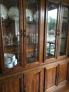 DINING TABLE, 6 CHAIRS, AND CHINA CABINET Windsor Region Ontario image 4