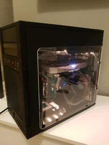 RGB Gaming PC i5 6600, Asus Strix Rx470, 256gb ssd, 2tb HDD