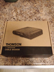 Thompson DM476 Cable Modem - Like New