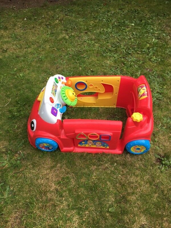 Fisher-price laugh and learn crawl-a-round car