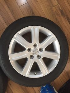 Lexus all season tires (Michelin) & Original Alloys for sale