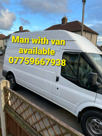 Man with van lowest price available for house removals professionally