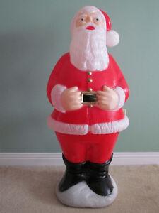 Vintage Illuminated Santa Claus Statue For Sale Cornwall Ontario image 1