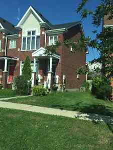 3 + 1 bedroom 4 washrooms end unit townhome