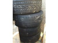 PART WORN Tyres - Fit BMW/AUDI/MERCEDES