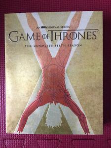 Coffrets BluRay Game of Thrones Saisons 1,2 3 et 5 Saguenay Saguenay-Lac-Saint-Jean image 5