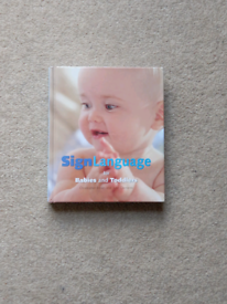 Sign Language for baby and toddlers book