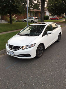 2014 Honda Civic EX Sedan with Winter Tires and Rims