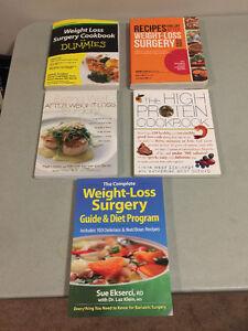 Weight loss surgery cookbooks