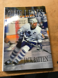 "VINTAGE HARDBACK BOOK ""THE LEAFS"" JACK BATTEN"