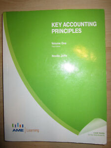 Key Accounting Principles Volume 1 Edition 3 + Workbook