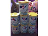 7 tins of SMA Lactose Free Formula