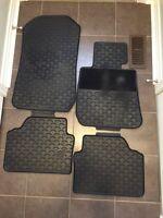 OEM BMW 3 Series Rubber Floor Mats