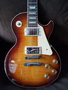 2014 Gibson Les Paul Std Plus - Ltd Edition AAAA plus top