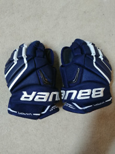 Bauer vapor X100 hockey gloves 11""
