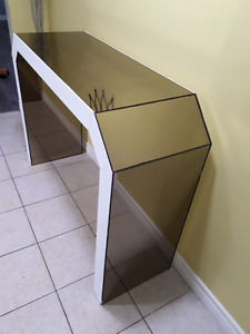 CUSTOM MADE MIRRORED HALL/ACCENT/CONSOLE/TABLE