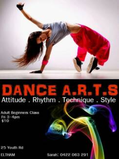 FREE ADULT BEGINNERS DANCE CLASS TODAY!!! Eltham Nillumbik Area Preview