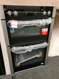 Brand New Blomberg ODN9302X 60cm Built In Electric Double Oven - Stain