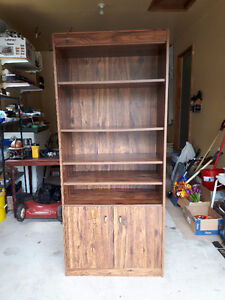 Book Case with Storage Compartment