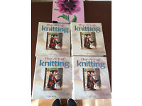 Complete set art of knitting with 82 balls wool