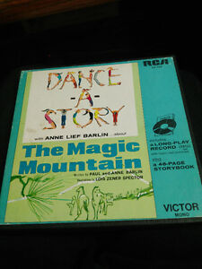 MAGIC MOUNTAIN story record by Anne Lief Barlin in 1964