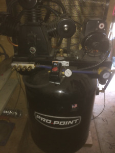 Like New 60 Gal Industrial Air Compressor