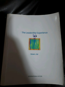 THE LEADERSHIP EXPERIENCE: Book for business students